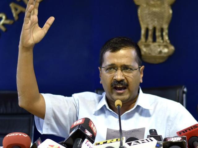 Chief minister Arvind Kejriwal's media advisor, Arunodya Prakash, has confirmed the move.(Arun Sharma/HT file)