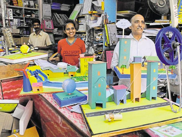 The shops, claiming that the models are prepared by subject experts, sell the various projects for Rs 200 to Rs 2,500.