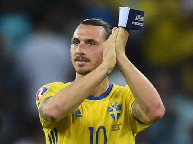 The 0-1 loss against Belgium was Ibrahimovic's last