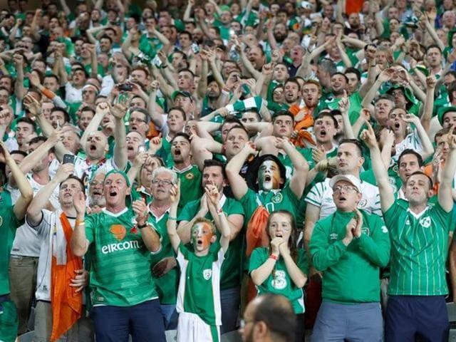 Euro 2016,Ireland fans,France