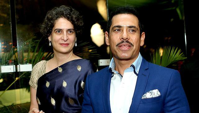 Priyanka Gandhi with husband Robert Vadra. Justice SN Dhingra commission is expected to submit its report on the investigation of certain land licences being granted to companies, including that of Vadra's.