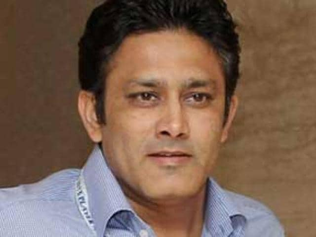 Kumble's only coaching experience has come in the IPL, with Mumbai Indians and Royal Challengers Bangalore.
