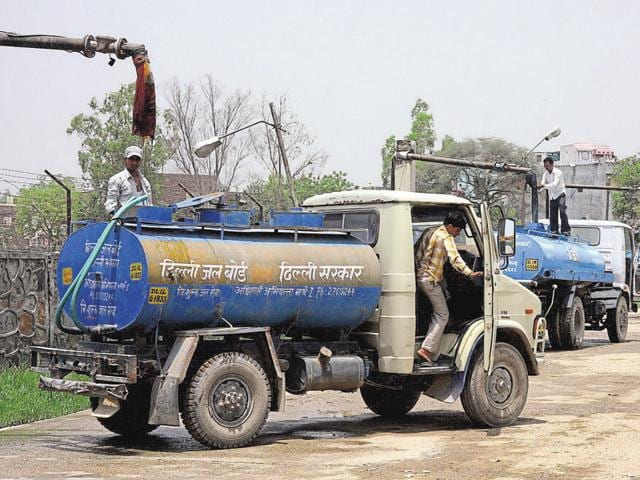 The Delhi Jal Board banned private tankers when the new government took office last year. Water filling stations, as per rules, are under the control of DJB and only tankers hired or owned by the utility can fill water and supply it.
