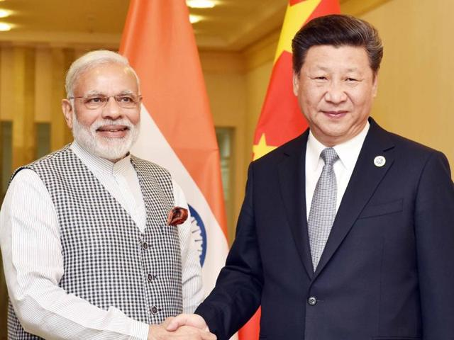 Prime Minister Narendra Modi before a bilateral meeting with Chinese President Xi Jinping in Tashkent.