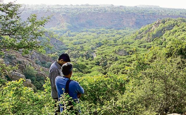 A large part of Aravalli ranges fall in Gurgaon, which has already lost 50% of its total forest cover in two decades to urbanisation.