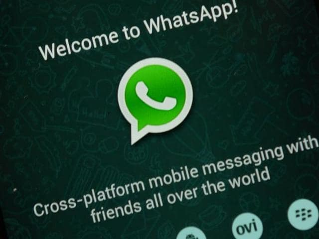 WhatsApp now offers free voice calling between its users worldwide. (AFP)