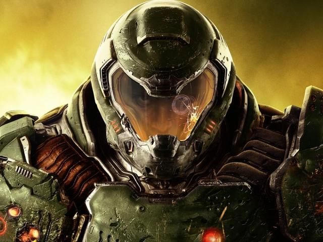 The 2016 Doom reboot dons the name of its original 1993 franchise ancestor.