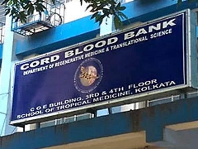 Cord blood bank,School of Tropical Medicine,Kolkata