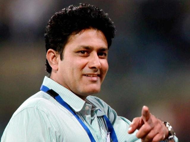 A file photo of  Anil Kumble who was appointed as the Head Coach of India cricket team.