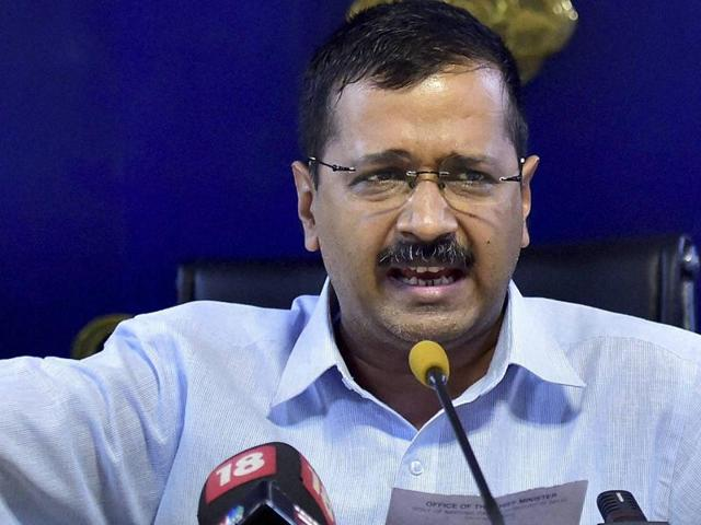 Citing the 'Brexit' referendum, Delhi chief minister Arvind Kejriwal said on Friday the national capital will soon have a referendum on full statehood issue.(PTI Photo)