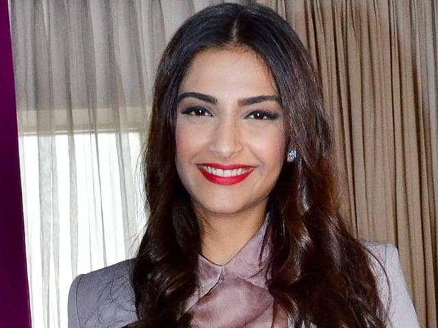"Sonam Kapoor says she ""doesn't care what other people are doing"" as she ""is in a race with herself""."