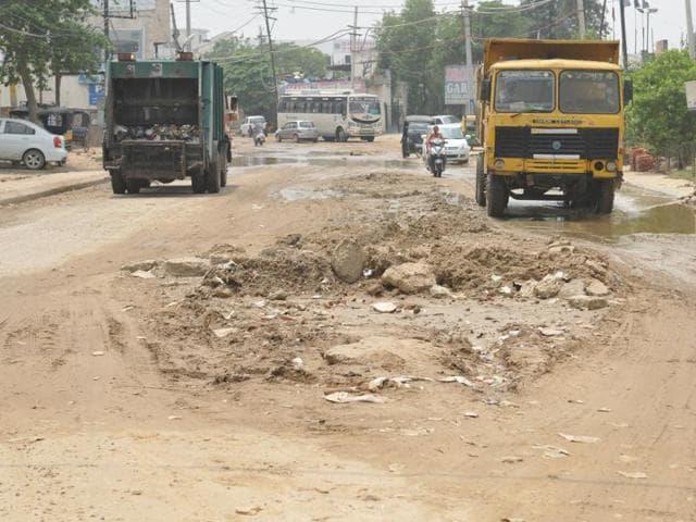 Jalandhar-Kapurthala road,four-laning,Jalandhar