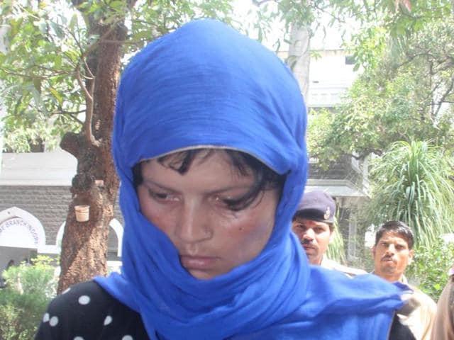 Murder accused Anjali.
