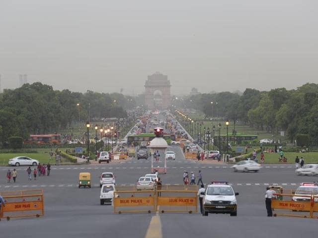 Lutyen's Delhi is a majestic reminder of the Imperial Rule in the country.