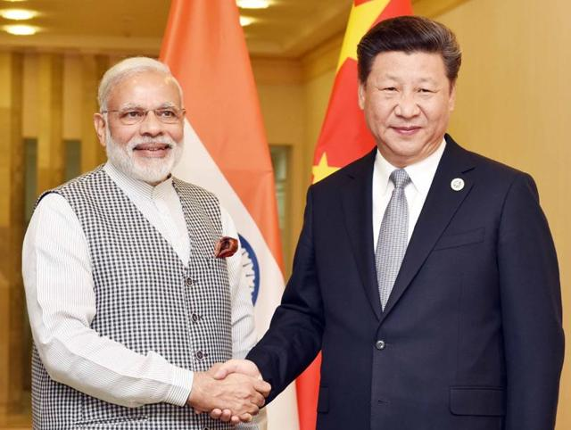 Prime Minister Narendra Modi at a bilateral meeting with the Chinese President Xi Jinping, in Tashkent, Uzbekistan on June 23, 2016.