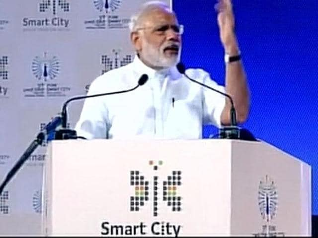 Prime Minister Narendra Modi launched 84 such projects including 14 for Pune, for various other cities across the country, at an investment of around Rs 2,000 crore.