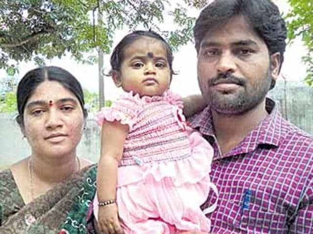 Ramanappa and Saraswati, agricultural labourers froka village in Andhra Pradesh's Chittor district, had approached court to allow them to kill their 8-month-old daughter because they cannot afford a medical procedure needed for the child. The Andhra govt has since offered help for the treatment.