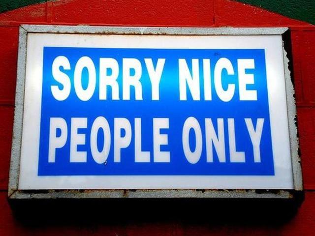 Nice people,nasty people,Personality