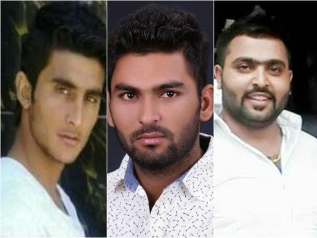 From left: Bambiha alias Davinder Shooter; Gurparvesh Uppal alias Bhesha; and Gaurav Sharma alias Goru Bachcha are some of the notorious names involved in gang wars in Ludhiana.