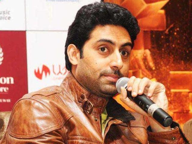 Abhishek Bachchan plays Shankar Nagre in Sarkar.