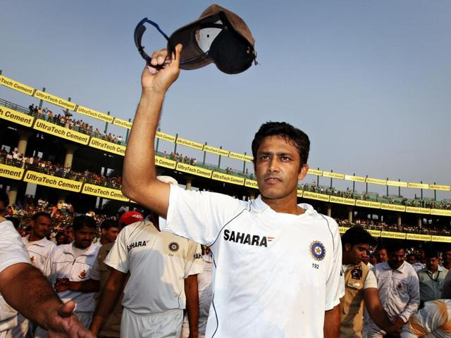 Kumble is the first Indian to be appointed as the full-time coach of the national team since Kapil Dev in 1999-2000.