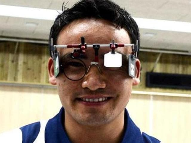 Rai shot 199.5 in the finals to bag the silver medal in men's 10m air pistol category.(AFP file photo)