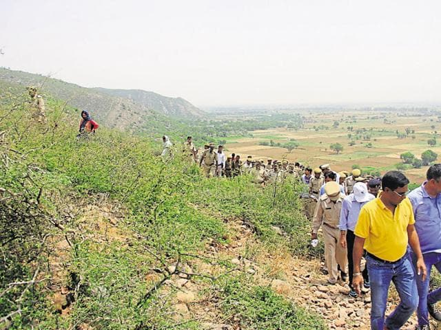 Forest department officials said the aim of the initiative is to bring back the lost green cover of the Aravallis by restricting human intervention.