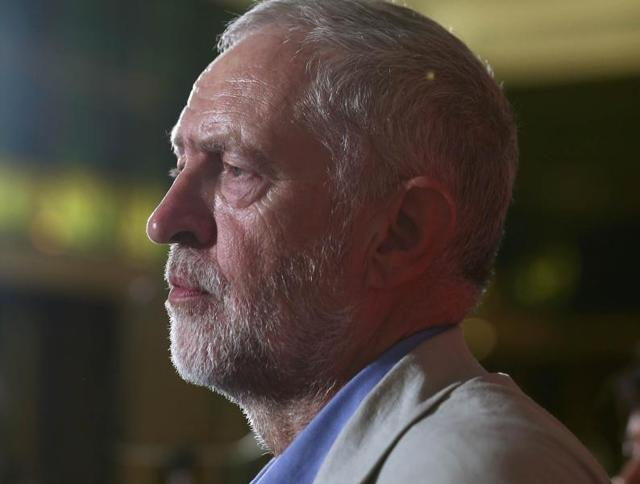 Labour Party leader Jeremy Corbyn speaks on immigration and moving on after the EU referendum, in central London on Saturday.