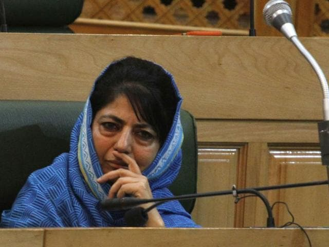 Jammu and Kashmir chief minister, Mehbooba Mufti . She is among the candidates who contested the bypoll for Anantnag assembly seat.