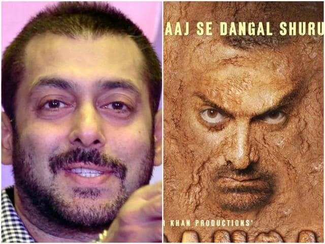 Salman and Aamir will be seen as wrestlers in their respective films. There were reports that after watching the trailer of Sultan, Aamir felt Dangal would suffer.