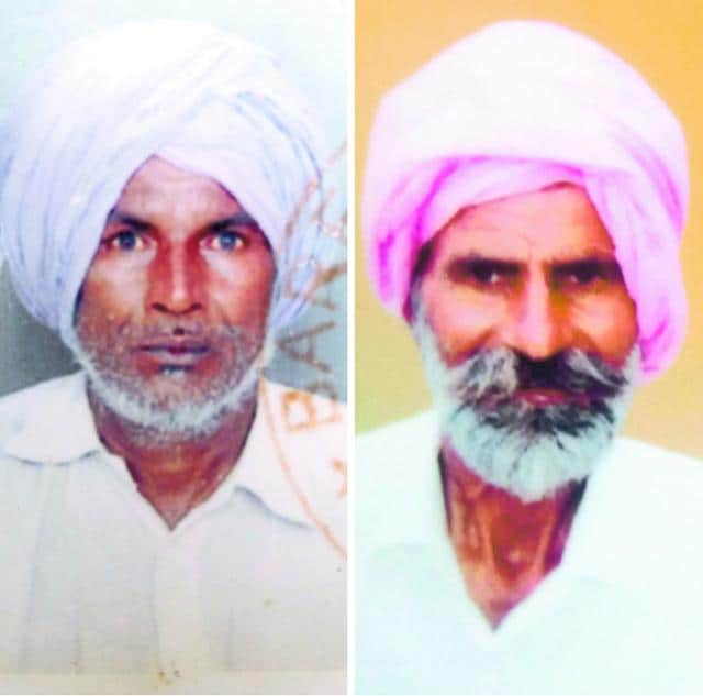 Mohinder Singh and Lal Singh.