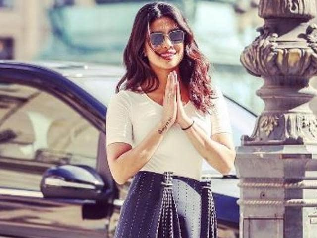 Actor Priyanka Chopra went to London and Paris recently along with her mother.