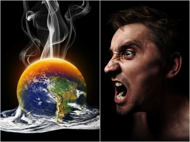 A rise in temperature leads to a faster life strategy, less focus on the future and less self-control — all of which trigger violence, claim scientists.