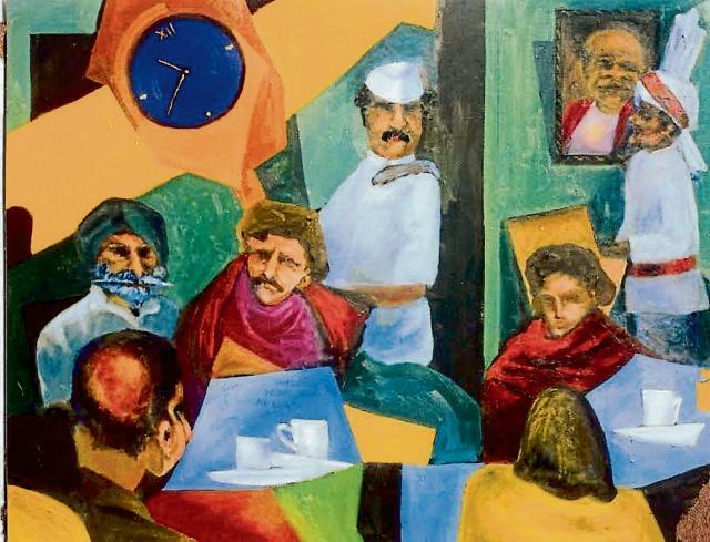 Coffee House by Balvinder Singh.