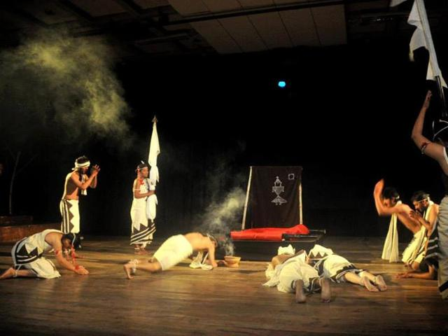 Culturally-rich city Bhopal hosts around 20 theatre festivals round the year. However, not much has been shown on the folk front.