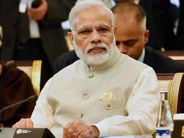 Prime Minister Narendra Modi during a recent summit in Tashkent.