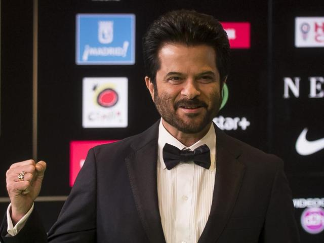 Anil Kapoor poses for photographers at the International Indian Film Academy (IIFA) Rocks Green Carpet for the 17th Edition of IIFA Weekend & Awards in Madrid, Spain.