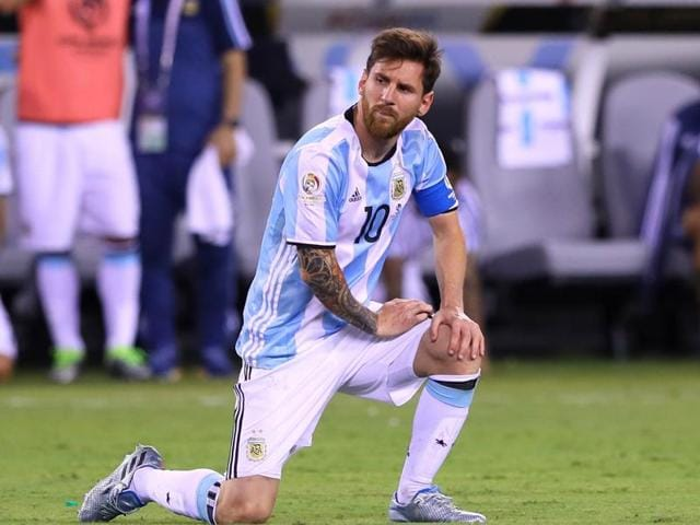 Lionel Messi was every bit a tragic hero as he announced his retirement from playing for Argentina after missing a penalty and failing, for the fourth time, to help the national team to win the final of a major tournament.
