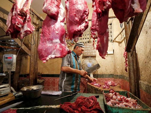 The accused confessed that they were transporting cow meat from Bhargain to Delhi for sale.
