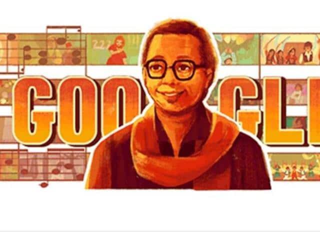 Pancham Da Google Doodle