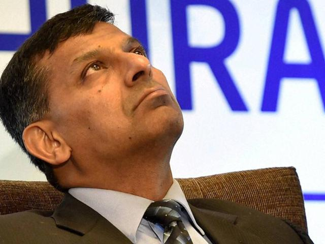 File photo of RBI governor Raghuram Rajan. He is to step down from his post on September 4, 2016(REUTERS)
