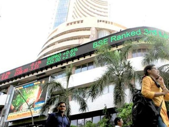 The BSE File 30-share barometer tanked 98.84 points, or 0.37%, to 26,298.87.