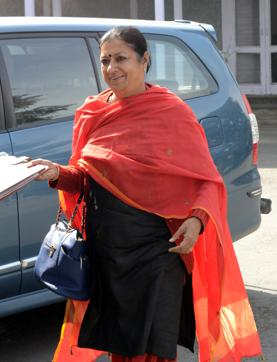 """At the centre of a controversy over her conviction in a land grab case, an unfazed Congress secretary in-charge of Punjab Asha Kumari on Monday rejected demands for her resignation, asserting she had party chief Sonia Gandhi's """"full mandate""""."""