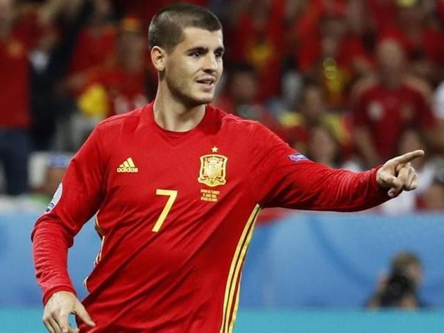 Euro 2016,Alvaro Morata,Spain vs Italy
