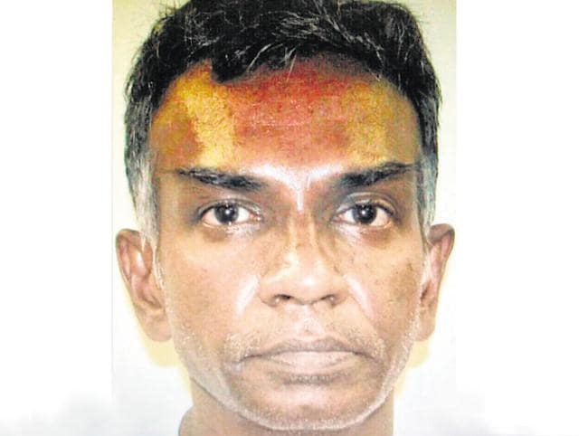 A team from the Mumbai crime branch recently extradited fugitive gangster Kumar Krishna Pillai alias Kumar Pillai from Singapore after he was on the run for 17 years.(HT file photo)