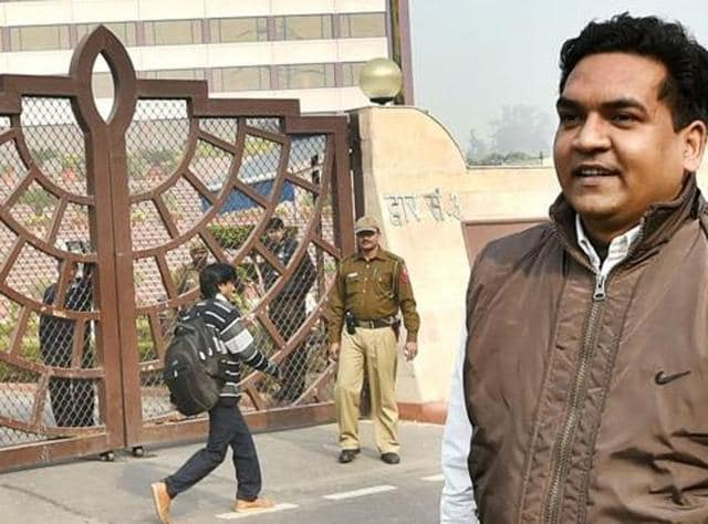 Delhi water minister Kapil Mishra on Wednesday claimed the anti-corruption branch was trying to shield former chief minister Sheila Dikshit.