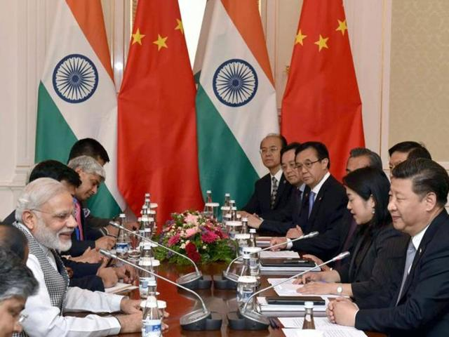 Indian Prime Minister Narendra Modi in a bilateral meeting with the Chinese President Xi Jinping, in Tashkent, Uzbekistan on June 23, 2016. India's bid for NSG membership was scuttled by China despite backing from many other countries including the US.(PIB Photo)