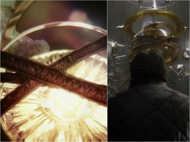 The origin of the giant rotating sun in the opening credits  was revealed in this season's finale.