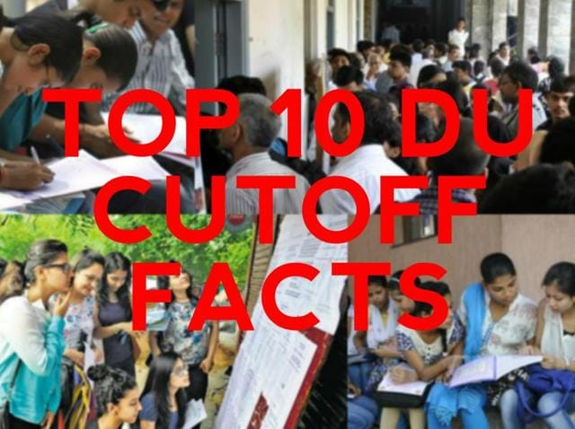 Delhi University will release its first cut off list on Wednesday night. HT brings to you all things you need to know about the admission process.