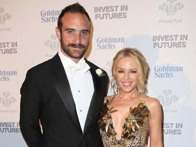 The 48-year-old Kylie Minogue met Joshua Sasse, 28, while filming TV show Galavant in 2015.